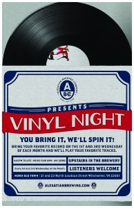 Vinyl Night @ Alesatian Brewing Co.